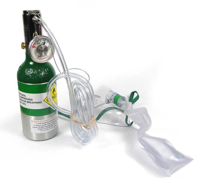 aerox Pro-O2 Emergency Handheld Oxygen Systems