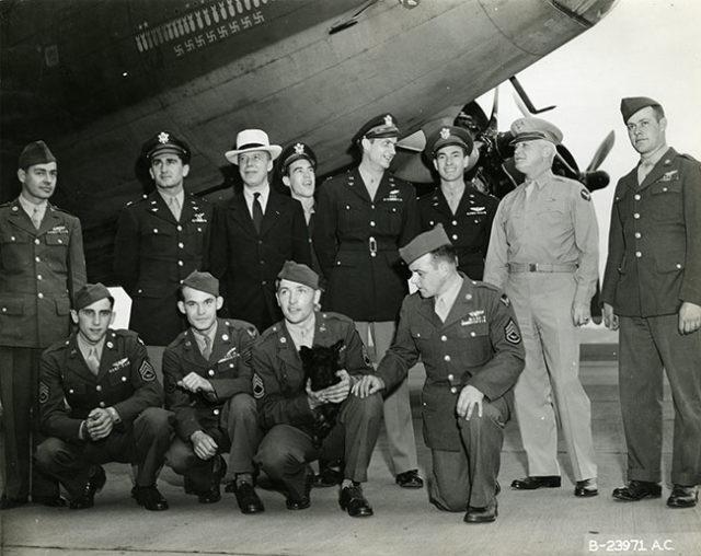 Memphis Belle with Original Crew