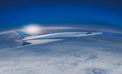 "Boeing ""Unveils"" Hypersonic Transport Plane"