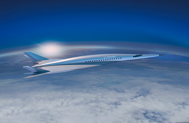 Boeing's passenger-carrying hypersonic vehicle concept