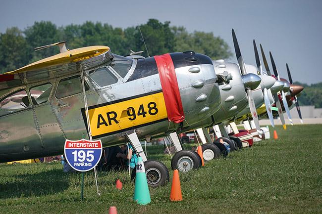 Restored Cessna 195s