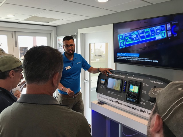 Bendix-King's AeroVue Touch product manager Karan Shrivastava