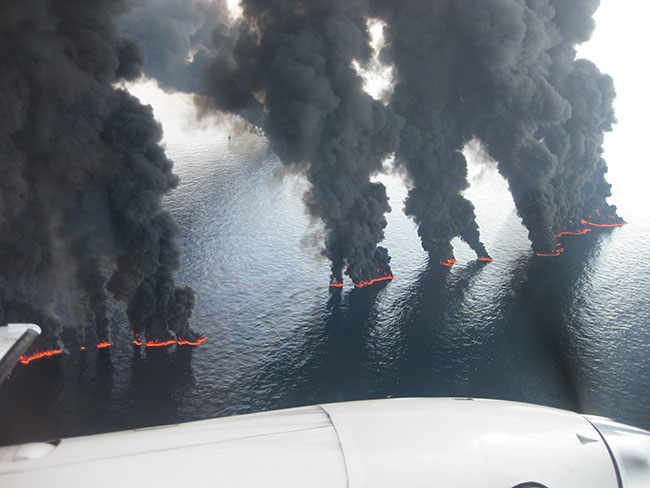 Flying in Hell: Providing Air Support Following The Deepwater Horizon Explosion