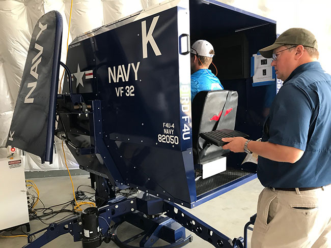 Corsair Simulator