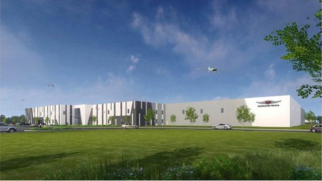 Continental Motors New Factory