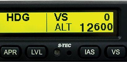 S-TEC Autopilot Racking Up New Plane Approvals