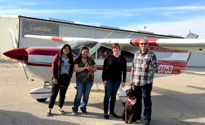 Volunteer Pilot Gives Pup Second Chance