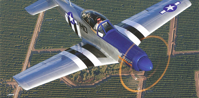 Flying (And Building) The Titan T-51D Mustang