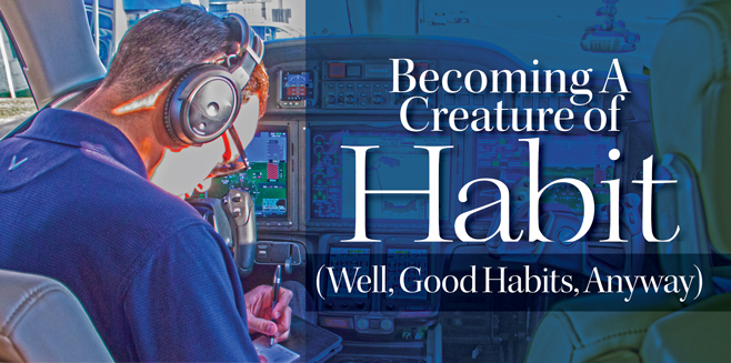 Becoming A Creature of Habit
