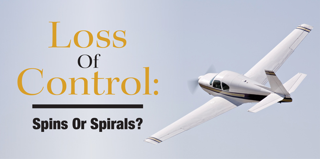 Loss of Control: Spins Or Spirals?