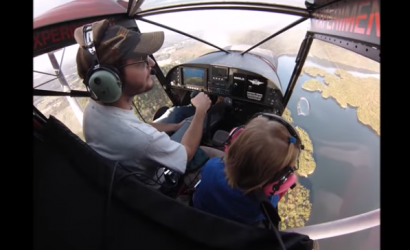 4-Year-Old Takes Her First Flight in Sky Jeep