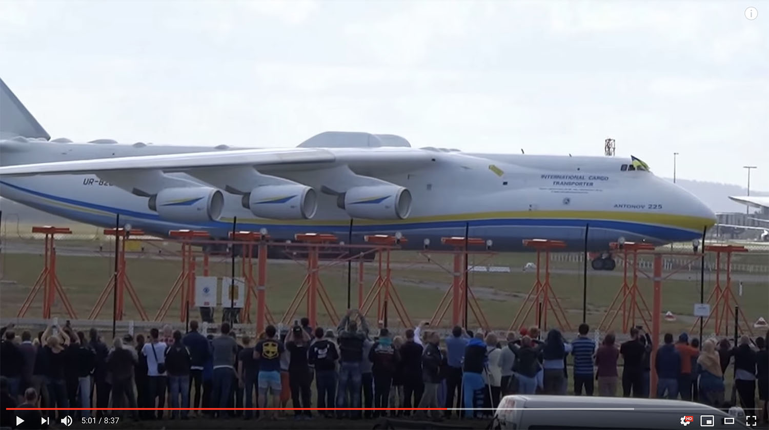 Going Direct: Swallowed Entirely By The World's Biggest Plane