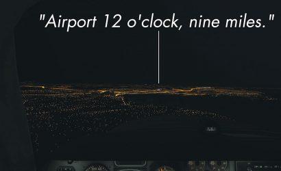 When Pilots Get Vectored Across Final