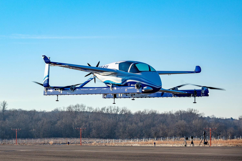 Boeing Autonomous Passenger Air Vehicle