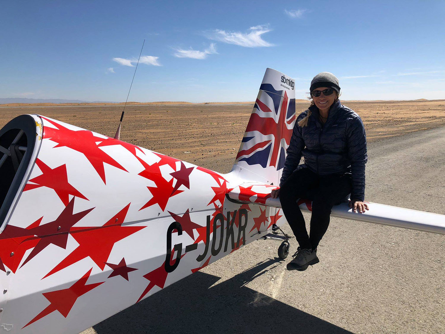 Flying the Gobi Desert Airshow