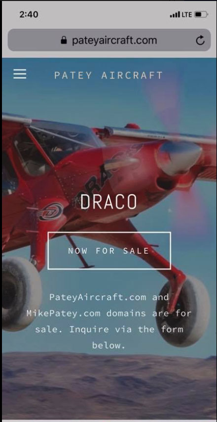 draco  world u2019s coolest airplane for sale scam