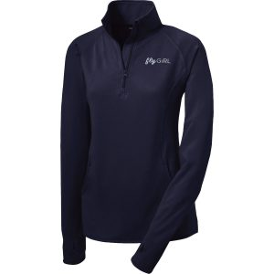 FlyGirl 1/2 Zip Pullover