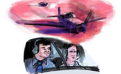 A Student Pilot Gets A Surprise On A Pre-Solo Flight