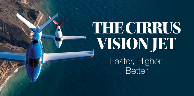 We Fly The Cirrus Vision Jet