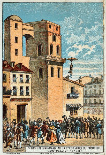 Parachute depiction