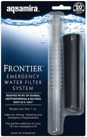 Aquamira Frontier Water Filter
