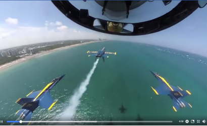 Pilots Are Losing Their Minds Over this Blue Angels Video