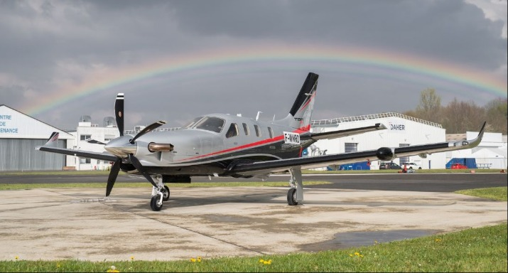 Daher TBM 940 Achieves Milestone
