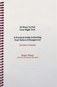 20 Ways to Fail Your Flight Tes