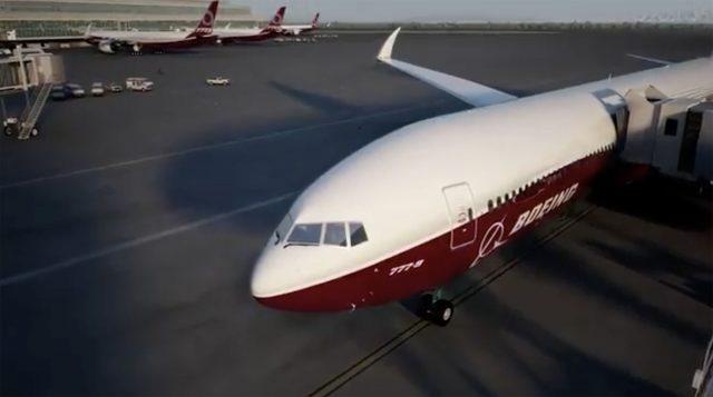 Boeing 777X Wing Folding