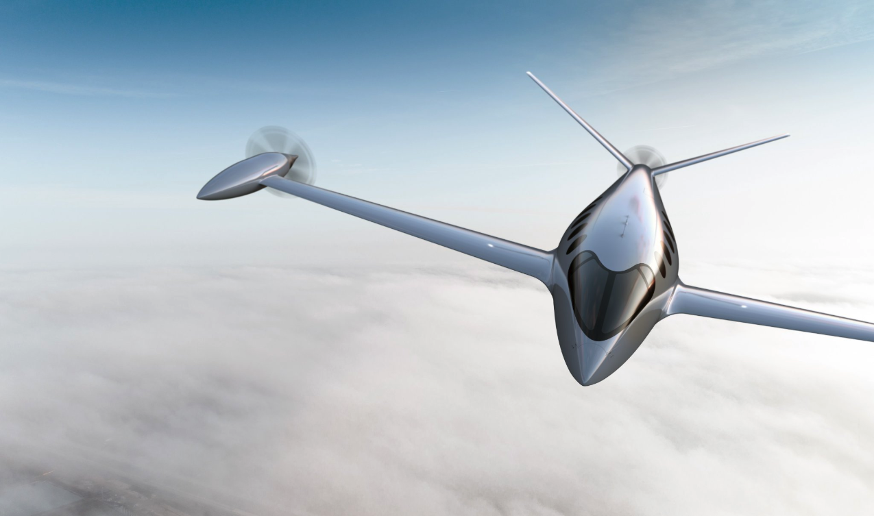 "Eviation's electric powered plane, ""Alice"""