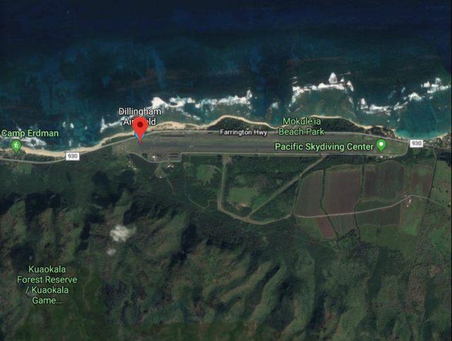 Hawaii Skydive Crash Site