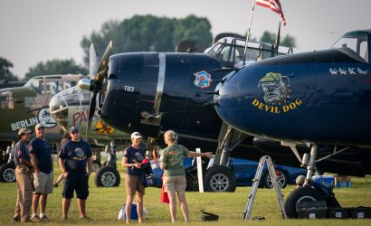 Photos: Warbirds And More From EAA AirVenture Oshkosh 2019