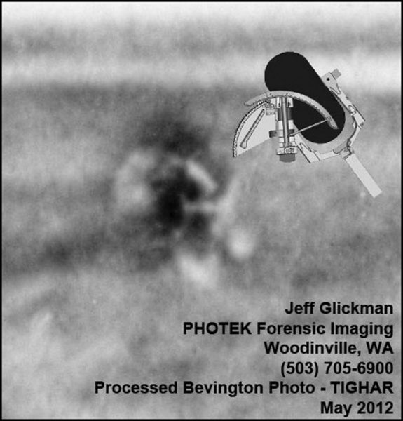 The object from the Bevington photo