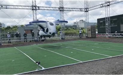 """Video: NEC """"Flying Car"""" Makes First Flight"""