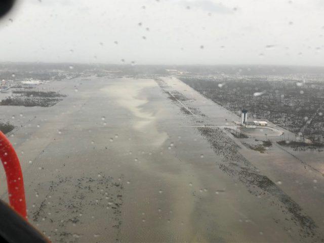 Marsh Harbour Airport after Dorian