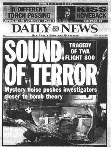 New York Daily News, TWA Flight 800