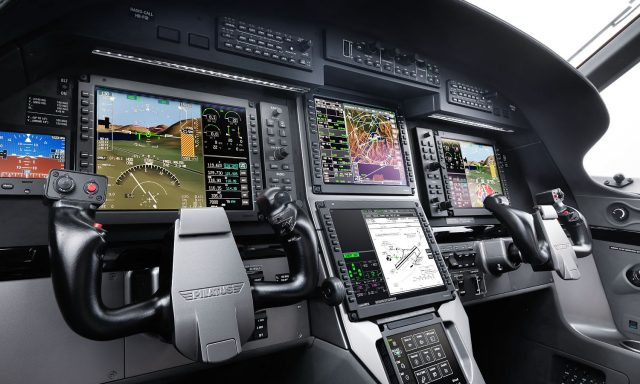 Pilatus PC12 NGX panel
