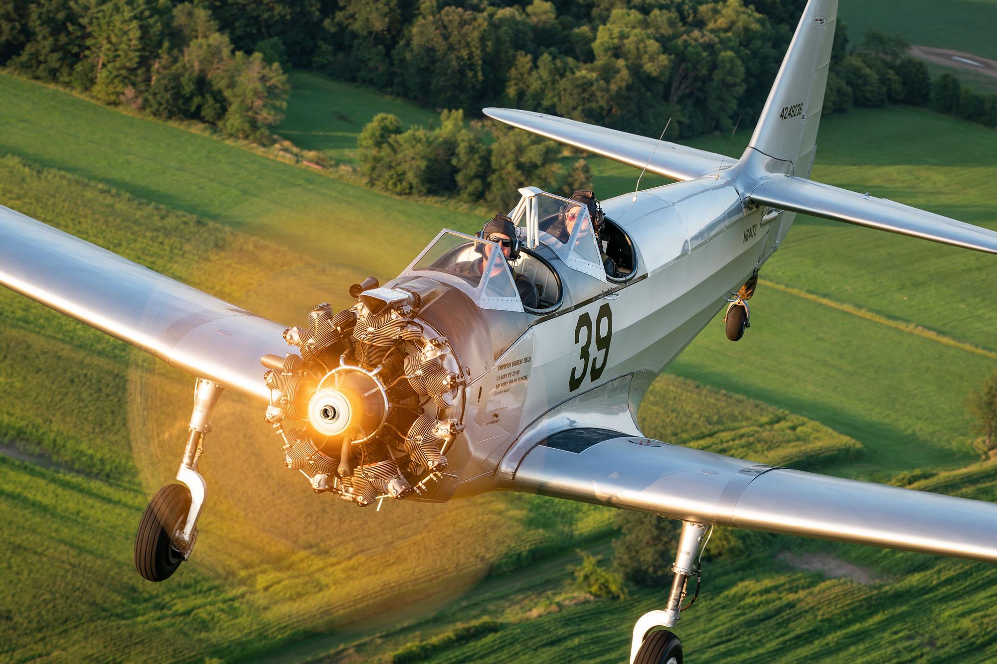 Fairchild PT-23 EAA AirVenture Oshkosh 2019