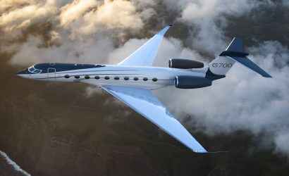 NBAA 2019: Gulfstream Unveils Gulfstream G700 At Hollywood-Caliber Spectacular