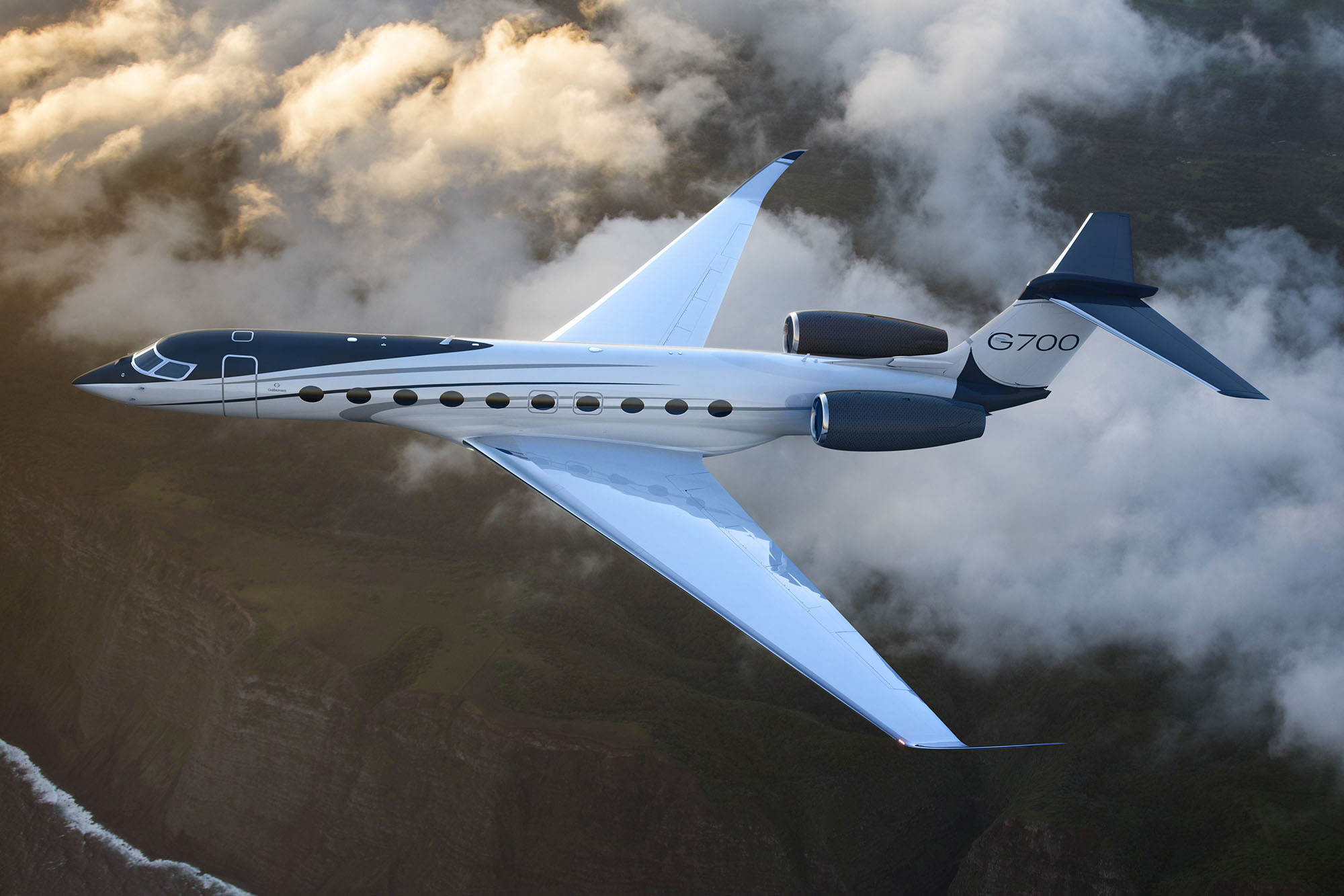 NBAA 2019: Gulfstream Unveils Gulfstream G700 At Hollywood-Caliber Spectacular