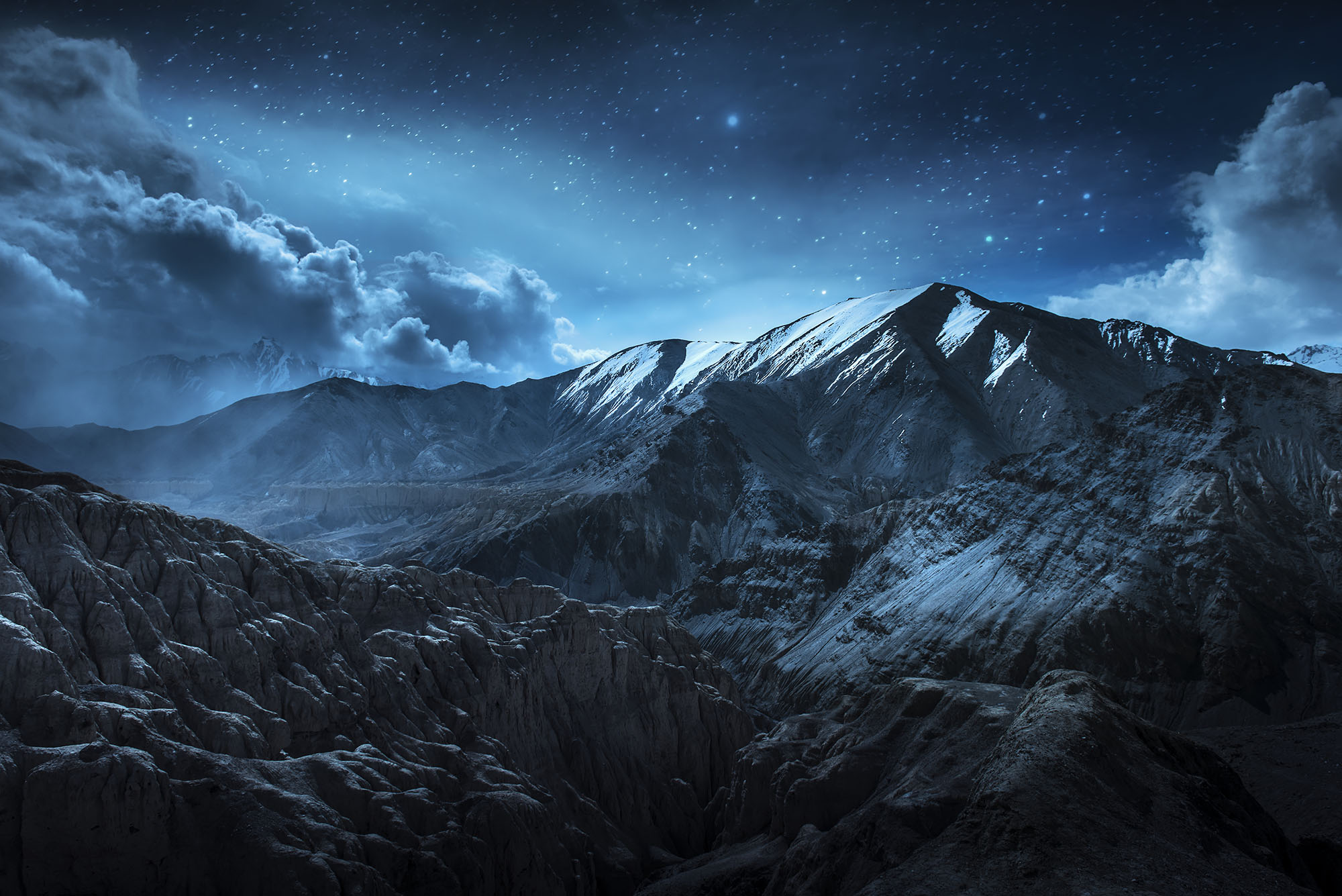 Flying At Night, Over Mountains - Plane & Pilot Magazine