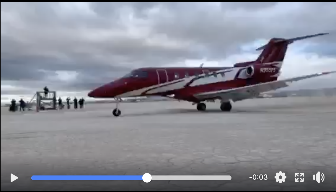 Video: Pilatus PC-24 Flying In To the High Sierra Fly-In