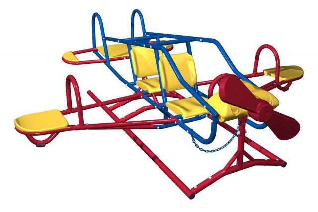 This Airplane Teeter-Totter Is The Perfect Gift For Kids
