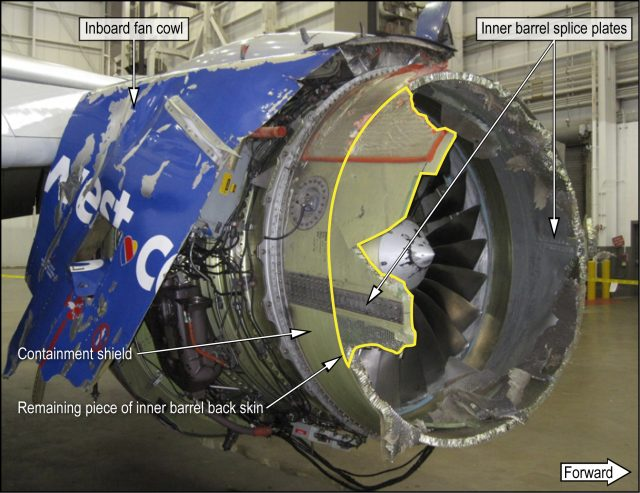 Engine Explosion Cause Found: NTSB Final Report On Southwest Airlines Flight 1380