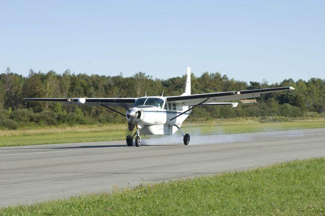 Plane's brakes