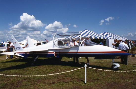BD-10 Homebuilt Jet