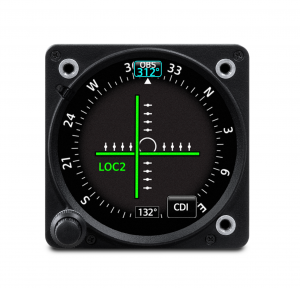 Garmin GI 275 Course Deviation Indicator