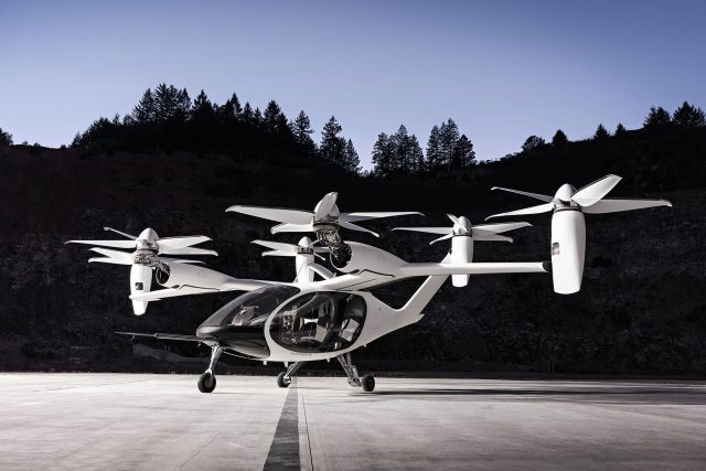 Joby Aviation Urban Air Mobility Vehicle
