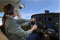 Pilot flying with Garmin GI 275