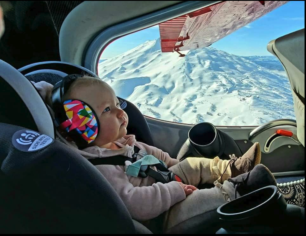 Plane & Pilot Photo Of The Week: Love Means Hearing Protection!
